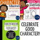 Character Education Product Bundle! Posters, Workbook, Bin