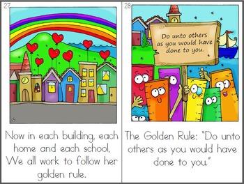 The Golden Ruler: Original Printable Book with BONUS Clip Art