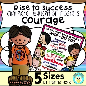 "SEL Character Education:  Rise to Success ""Courage"""