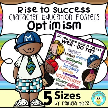 "SEL Character Education:  Rise to Success ""Optimism"""