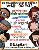 "SEL Character Education:  Rise to Success ""Respect"""