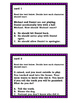 Character Education Task Cards