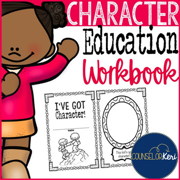 Character Education Workbook/Worksheets for Elementary Sch