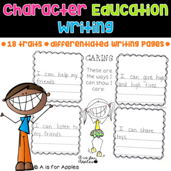 Character Education Writing