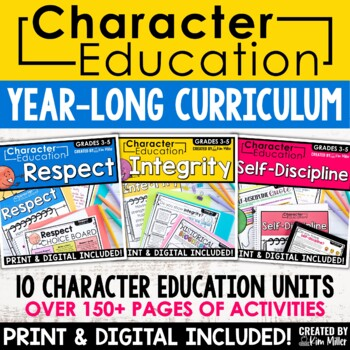 Character Education in the Classroom - Posters and Activities
