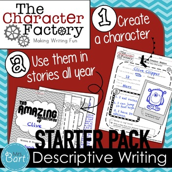 {Character Factory} Starter Pack: Descriptive Writing Activity