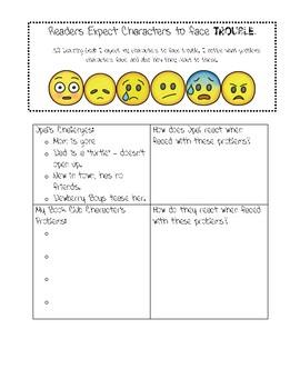 Character Studies: Lucy Calkins Grade 3 Unit 3 ISN