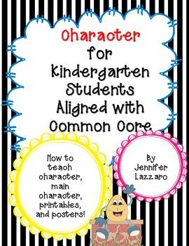 Character: Teaching Story Elements in Kindergarten