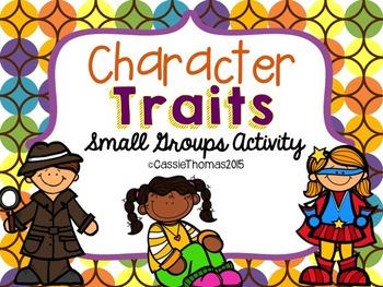 Character Trait Activity