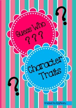 Character Trait Guess Who