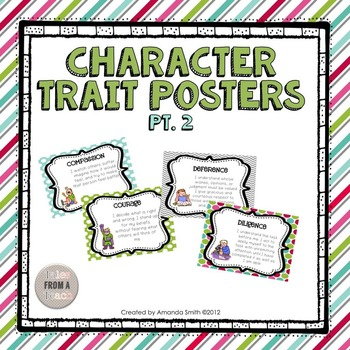 Character Trait Posters 2: Ready to Use Posters To Motivat