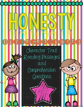 Character Traits: Honesty Differentiated Reading Passages