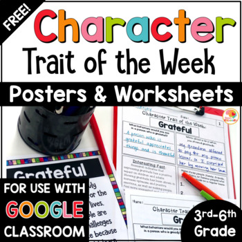 Weekly Character Trait Study