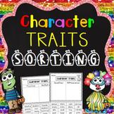 Character Traits Sorting (No Prep)
