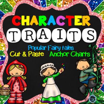 Character Traits Fairy Tale Theme (NO PREP)