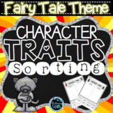 Fairy Tales Character Traits Sorting (No Prep)