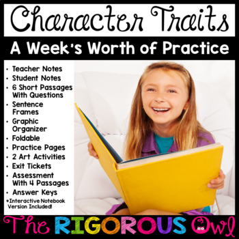 Character Traits Bundle