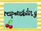 Character Traits - Cherries