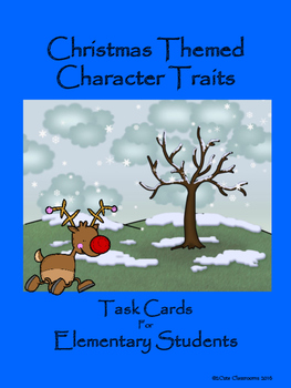 Character Traits: Christmas Themed