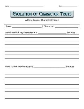 Character Traits Evolution