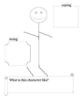 Character Traits Graphic Organizer Printable!
