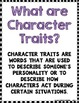 Character Traits Graphic Organizers For Any Book