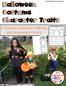Character Traits - Halloween Costumes/Storybook Characters