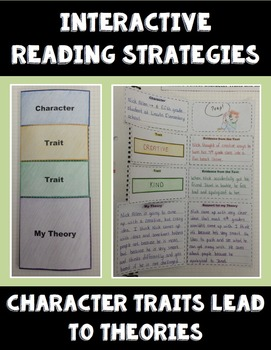 Character Traits - Interactive Reading Strategy - Language