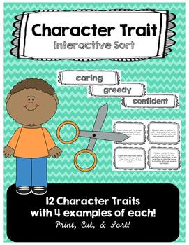 Character Traits Interactive Sort