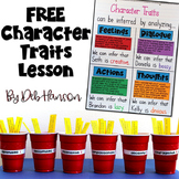 Character Traits: Three FREE Activities