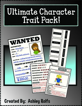 Character Traits-Ultimate Pack!