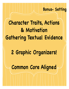 Character Traits and Character Motivation, Setting