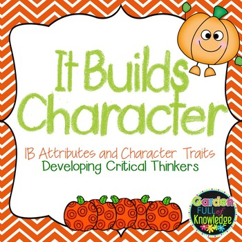 Character Traits using IB Learner Profile Attributes with