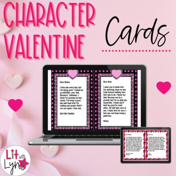 Character Valentine Cards- For Any Text