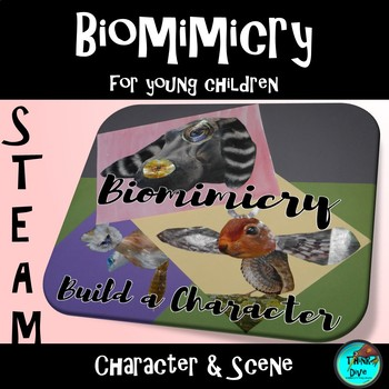 Character and Scene Sketch Pack - Biomimicry for Young Children