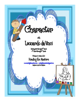 Character with Leonardo daVinci