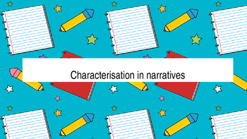 Characterisation in Narratives (fantasy themed) PowerPoint