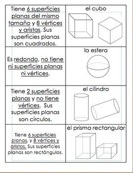 Characteristics of 3D shapes / Características de los cuer