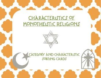 Comparing Monotheistic Religions: Islam, Christianity, Judaism