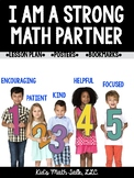 Characteristics of a Strong Math Partner - in Bookmark Form!