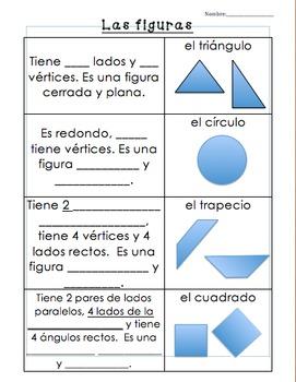 Characteristics of plane (2D)shapes / Características de l