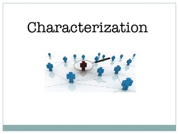 Characterization-For Readers & Writers