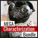 Characterization Mini-lesson BUNDLE for Facilitating Writi