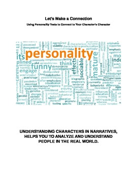 Story Characters - Personality Tests Help Students Underst