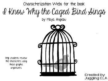 Characterization Webs for I Know Why the Caged Bird Sings