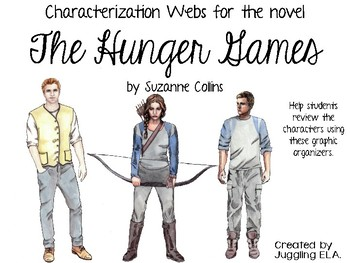 Characterization Webs for The Hunger Games by Suzanne Collins