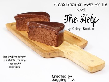 Characterization Webs for the novel The Help by Kathryn Stockett