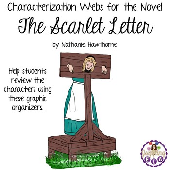 Characterization Webs for the novel The Scarlet Letter by