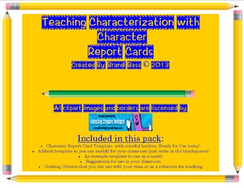 Characterization and Character Traits: Fun with Character