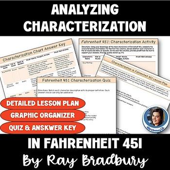 Fahrenheit 451: Analyzing Characterization - Lesson Plan &